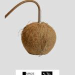 Kokos / LED – Pendellampe