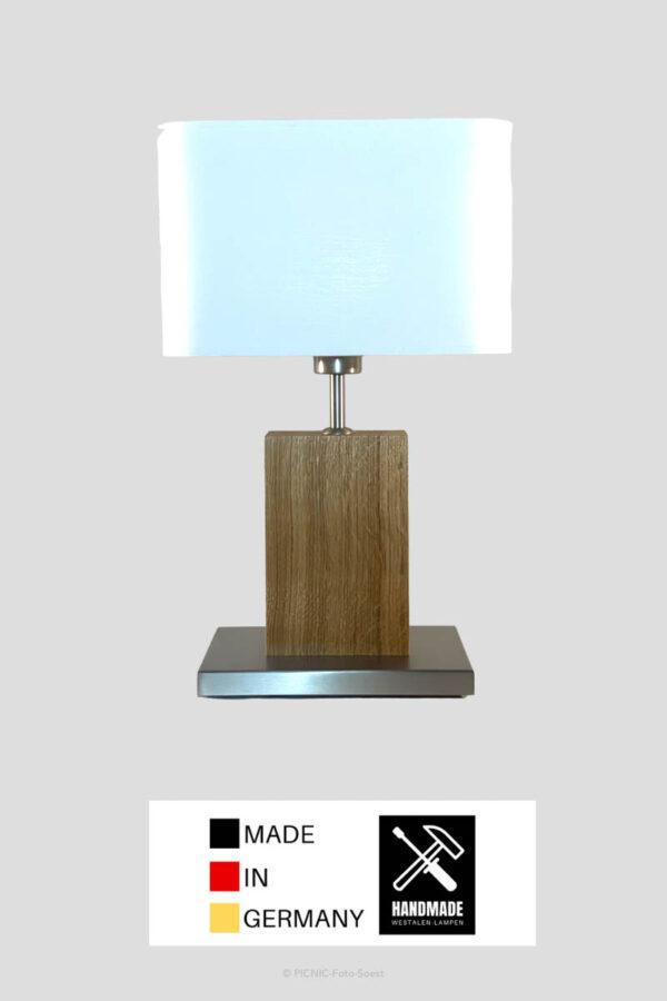 Tischlampe Elsa Eiche von Westfalen-Lampen Möhness