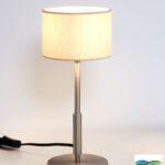 Kambi – Tischlampe in Edelstahloptik